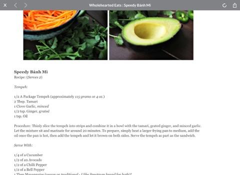 foodgawker for iPad screenshot