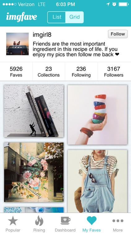 Imgfave - Collect your visual inspiration screenshot-1