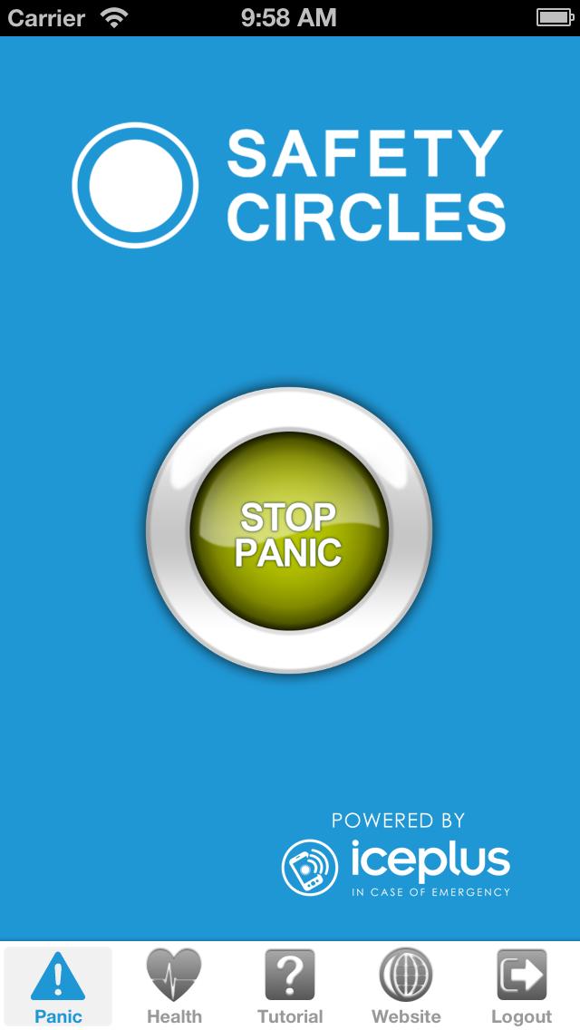 Safety Circles screenshot three