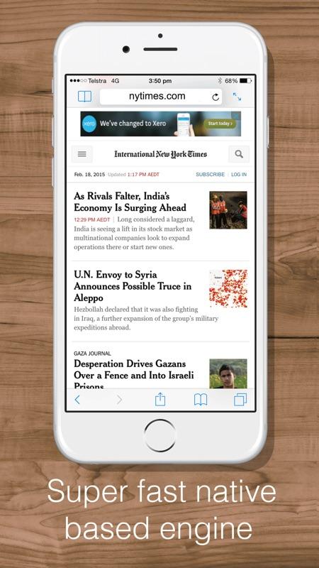 split web browser  fast multitasking and full screen