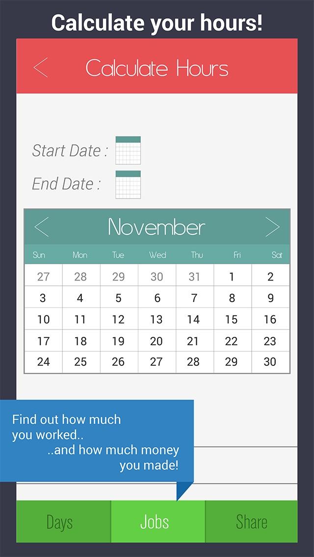 Shift Calendar Pro Work Schedule Organizer With Hour Pay