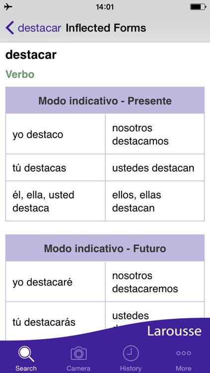 Larousse Spanish Basic Dictionary screenshot-3