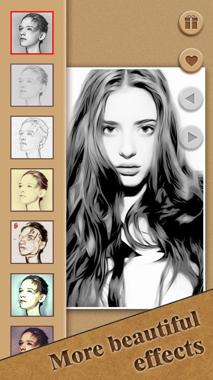 Cartoon Sketch HD - Filter Booth to add Pencil Portrait Effect & Splash Color on Camera Photo