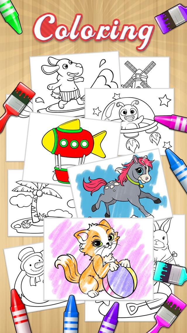 рисовать + книжка-раскраска HD для iPhone и iPad скачать ...