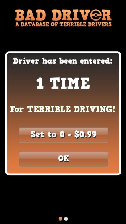 Bad Driver Database screenshot-4