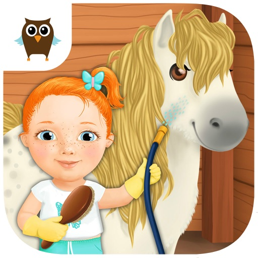 Sweet Baby Girl Cleanup 3 House Chores, Car Wash and Pony Care - Kids Game