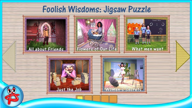 Foolish Wisdoms: Free Jigsaw Puzzle screenshot-3