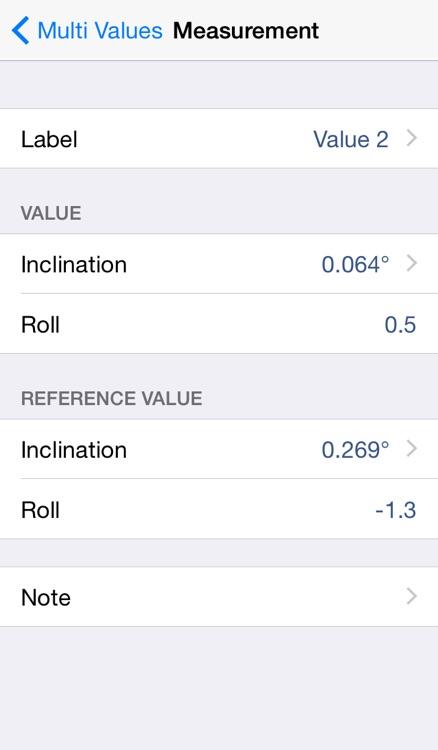 Multi Values for ALiSENSOR™ Level screenshot-3
