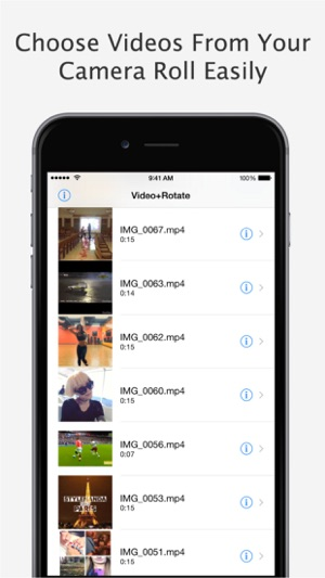 Videorotate flip free for iphone ipod touch and ipad on the screenshots ccuart Image collections