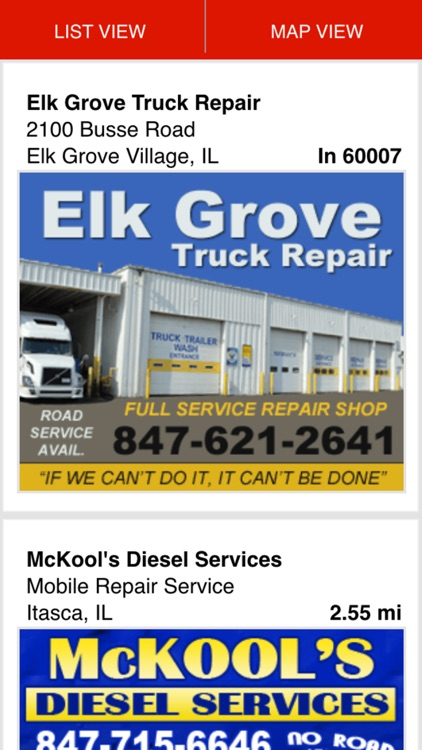 Find Truck Service & Stops screenshot-1