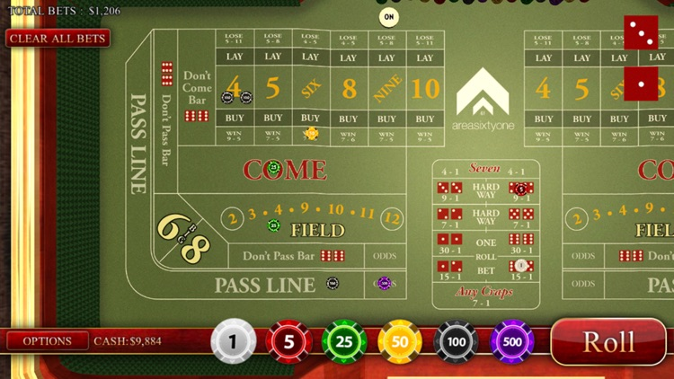 Craps Master 3D screenshot-2