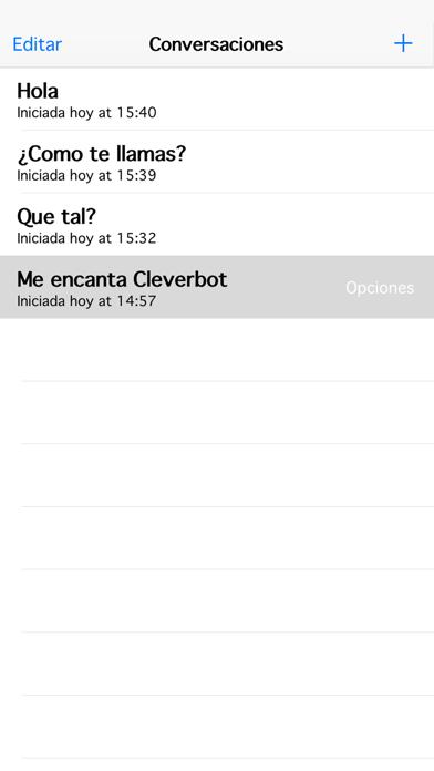 CleverbotCaptura de pantalla de4