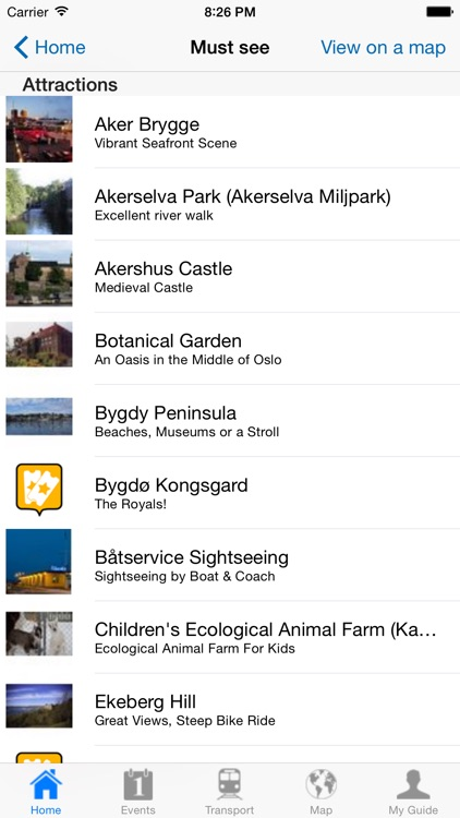 Oslo Travel Guide Offline screenshot-3