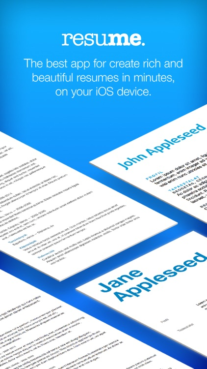 Resume Maker - Pro CV Designer screenshot-0