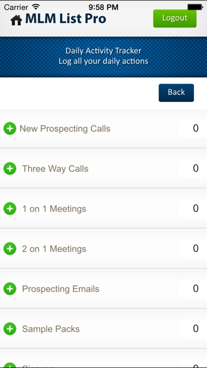 MLM Contact List Creator with ROMAR