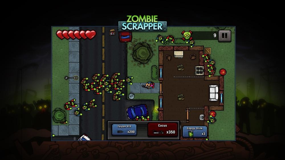 Zombie Scrapper Cheat Codes