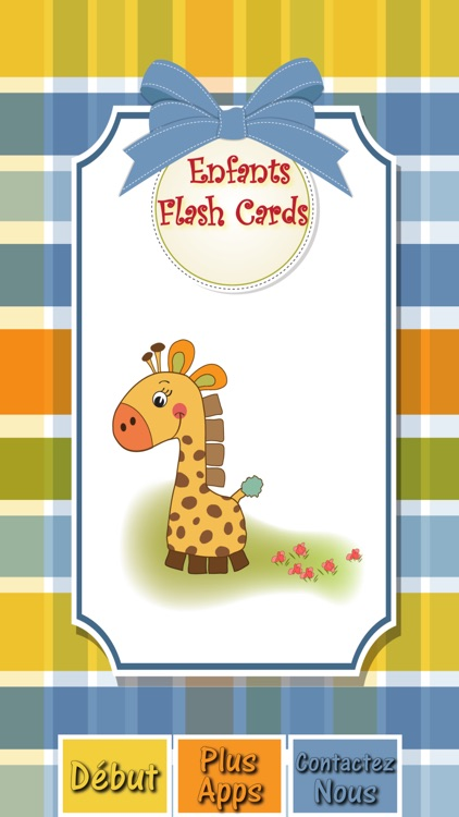 Preschooler Kids French ABC Alphabets & Numbers Flash Cards screenshot-4