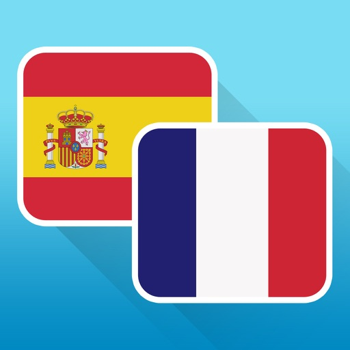 Free Spanish to French Phrasebook with Voice: Translate, Speak & Learn Common Travel Phrases & Words by Odyssey Translator