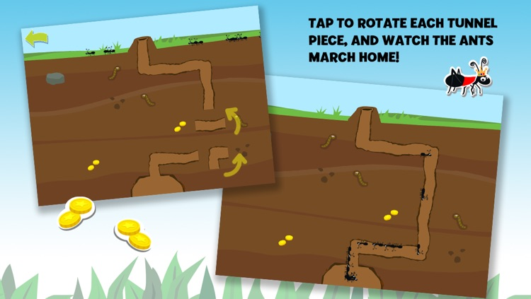 Brainy Bugs' Preschool Games for iPhone screenshot-3