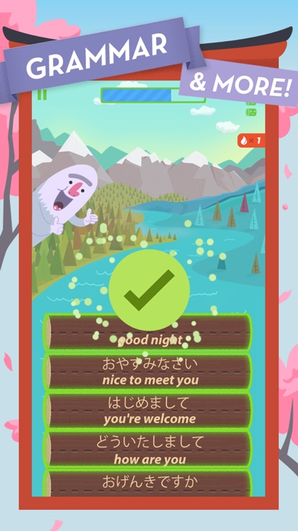 Learn Japanese by MindSnacks screenshot-4