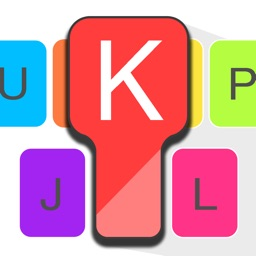 Color-Keys! for iOS 8 Keyboard - Design your keyboard with color, background, themes, skin, emoji