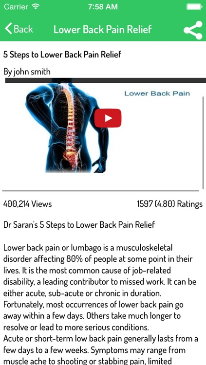 How To Relieve Back Pain screenshot-3