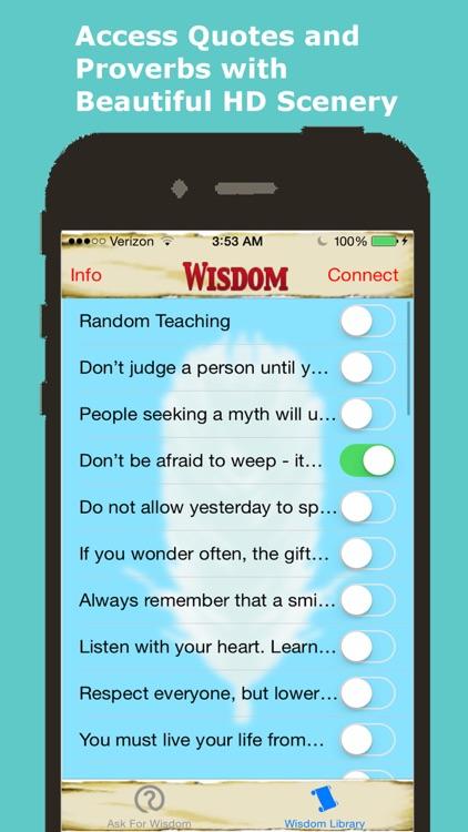 Native American Daily Wisdom