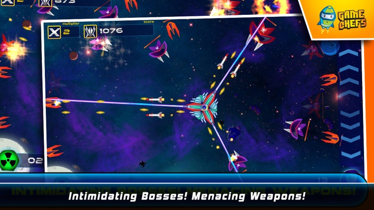 Galaxy Defense Force : The Best Free Space Shooter screenshot-3