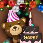 誕生日ケーキ(バースデーケーキ):誕生日のキャンドル icon