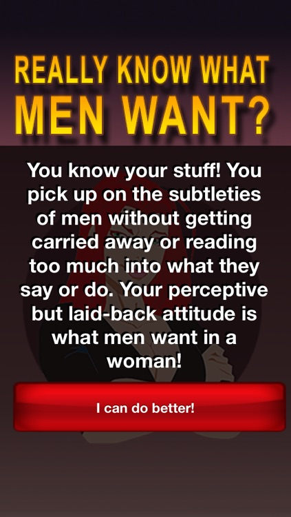 Do You Really Know What Men Want? screenshot-3