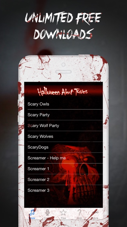 Halloween Alert Tones - Scary new sounds for your iPhone screenshot-1