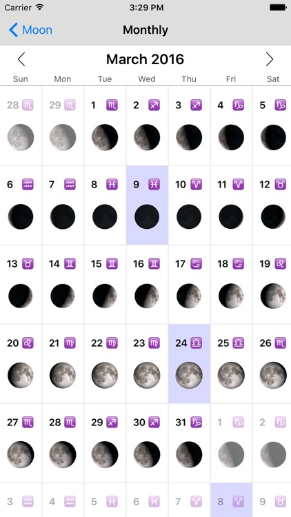 Phases of the Moon screenshot-4