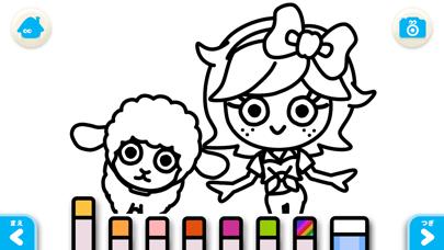 【無料版】メリーさんのひつじ ~ぬりえで遊べる赤ちゃん・子供向けのアニメで動く絵本アプリ:えほんであそぼ!じゃじゃじゃじゃん童謡シリーズのおすすめ画像5