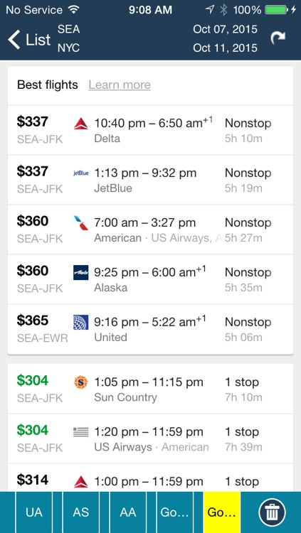 Seattle Airport Pro (SEA) Flight Tracker screenshot-3