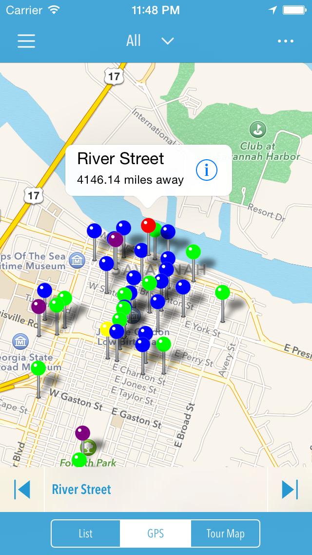 LITE: Savannah Walking Tour screenshot four