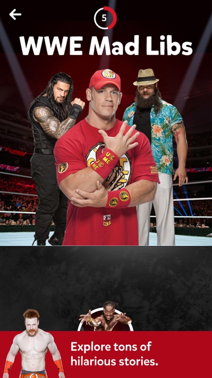 WWE Mad Libs screenshot-3