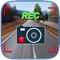 Simple and functional video recorder with the ability to shoot at other road users