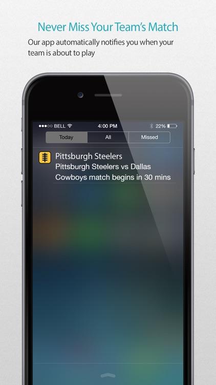 Pittsburgh Football Alarm Pro