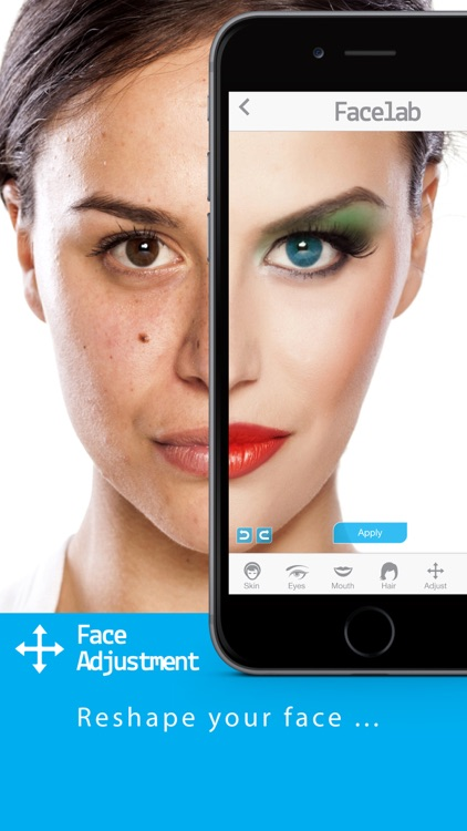 FaceLab - perfect makeover cosmetic retouch & free selfie makeup app screenshot-4