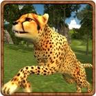 Angry Cheetah Survival - Un predatore selvatico nel deserto gioco di simulazione 3D icon