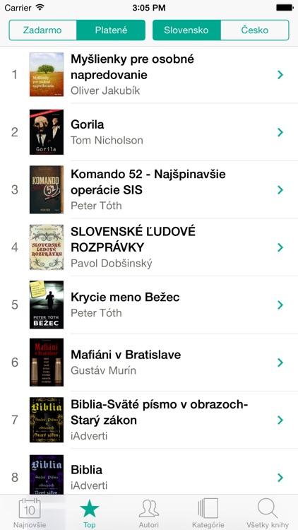 Knihy v Slovenčine a Češtině screenshot-3