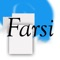 You can install Farsi custom keyboard extension on iOS 8 devices, and type in Farsi using your iOS device as a native keyboard