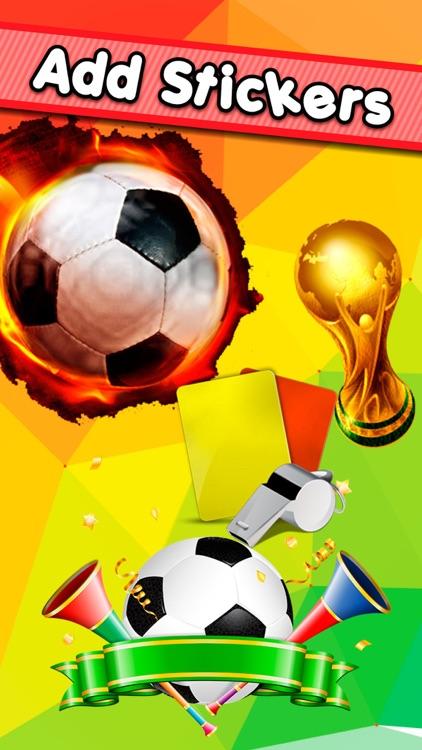 Football Photo Sticker : Premier Collage League Photo Makers