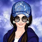 Одевалка: модница спортсменка - игра для девочек и детей icon