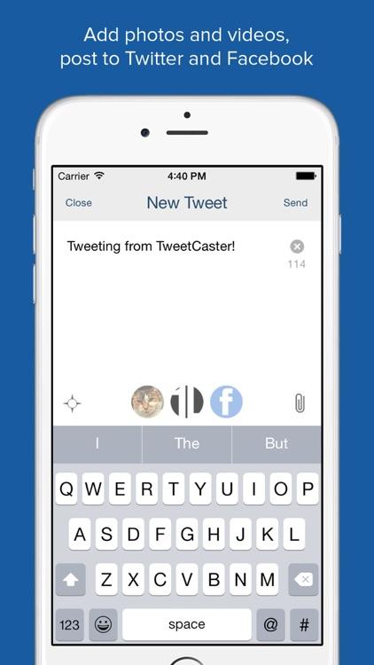 TweetCaster Pro for Twitter screenshot-3