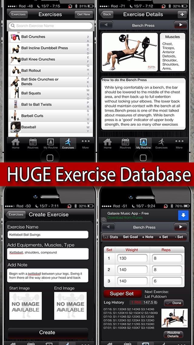 myfit fitness workout logger and weight loss exercise tracker free