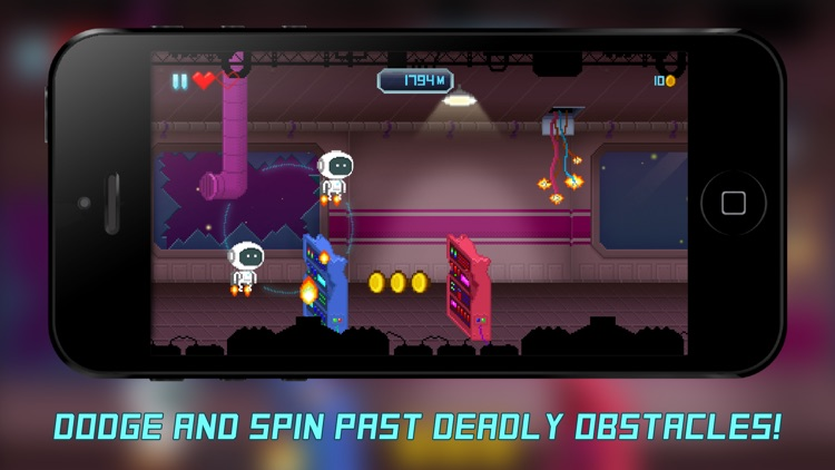 JetSpin Hustle - Space Arcade
