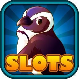 Atlantic Penguins Vacation Slots - Snowy Paradise City Casino Slot Machines Pro