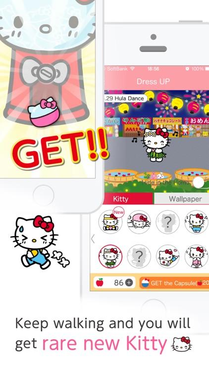 簡単ダイエット!おさんぽハローキティ screenshot-4