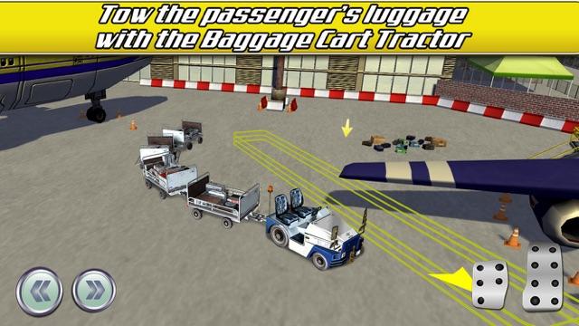 Airport Trucks Car Parking Simulator - Real Driving Test Sim Racing Games Screenshot